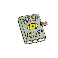 Tuesday Bassen-Keep Out Pin