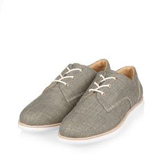 best sneakers 823ef aaa84 Summer sneaker in italian linen with sneaker outsole. Hand made and stylish  classic derby upper
