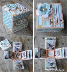 Ricordi di Carta : tripla explosion box con foto