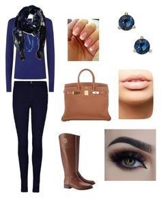 A fashion look from August 2016 featuring scoop-neck tees, high rise skinny jeans and brown knee high boots. Browse and shop related looks. Armani Jeans, Tory Burch, Valentino, Kate Spade, Shoe Bag, Stylish, Polyvore, Stuff To Buy, Shopping