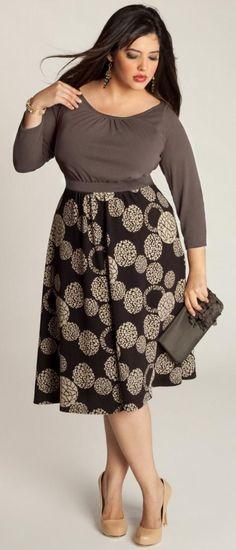 5a13b2a09e3b1 cute plus size dresses 13  plus  plussize  curvy Modest Fashion
