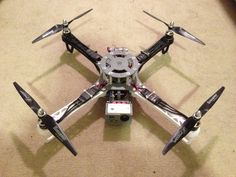 Boca Bearings build log for the 3D Printed FPV Quadcopter The Crossfire