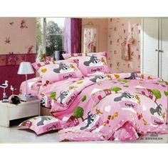 Pink Tom and Jerry Bedding For Girls