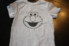 Elmo freezer paper shirt