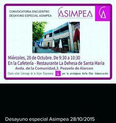 Desayuno asimpea  #networking @ASIMPEA