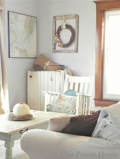 Our Prairie Home: Living Room {Reveal}
