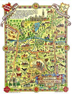 FOLK MAP of SCARISBRICK