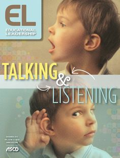 The November issue of Educational Leadership is now available. Read articles on the art of conversation, presentations skills, Socratic discussions, math talk, ways to foster English learners' confidence, and more