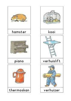 Woordkaarten Bas 'De verhuizing' 2