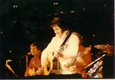 Elvis Presley on Tour . May 1, 1977. Chicago, IL.