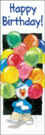 Suzy Zoo Birthday Cards | Cool School Bookmarks, Reading Bookmarks, Bookmarks for Kids