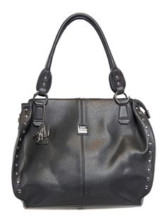 Beautiful Black and Brown Concealed Carry Purse