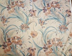 Vintage Chintz Fabric-Floral Fabric-Margins Designs-Upholstery