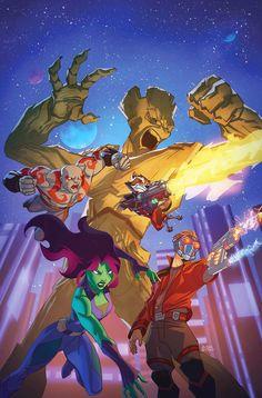 Desenho dos Guardiões da Galáxia já tem suas vozes ~ Universo Marvel 616