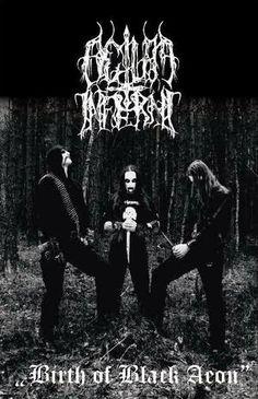 Actum Inferni - Birth of Black Aeon (Tape) -Hateful & Satanic Black Metal from Poland.