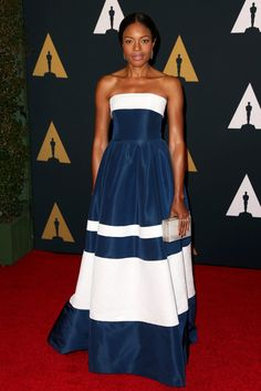 Actress Naomie Harris attends the Academy of Motion Picture Arts and Sciences' 8th annual Governors Awards at The Ray Dolby Ballroom at Hollywood