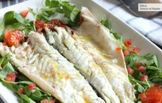 Cooking Sea Bass, Ground Fennel, How To Cook Fish, Big Bowl, Just Cooking, Grilled Vegetables, Different Recipes, Popular Recipes, Fish Recipes