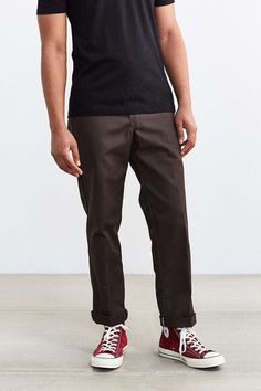 Shop Dickies Original 874 Straight Work Pant at Urban Outfitters today. We carry all the latest styles, colors and brands for you to choose from right here. Workwear Fashion, Fashion Wear, Fashion Outfits, Estilo Vans, Moda Converse, Mature Mens Fashion, Skate, Vetement Fashion, Work Pants