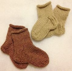 Cashmere and Baby Alpaca Baby Socks