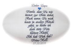 Accessoires - Besticktes Taschentuch zur Hochzeit! Brautvater - ein Designerstück von Goldfisch17 bei DaWanda
