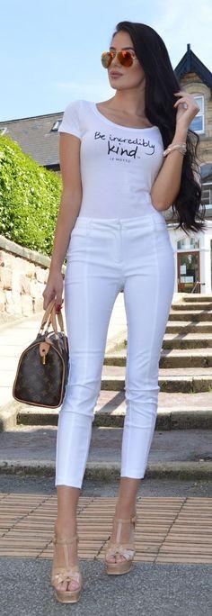 Casual Comfort Summer Style by Laura Badura Fashion