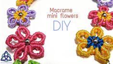 Learn fast and easy how to make this beautiful Macrame Flowers   following each step. Enjoy in the process #macrame #macrameflower #mandala #macrameDIY #macrametutorial #flower #easymacrame #macramemagicknots #craft #makramee