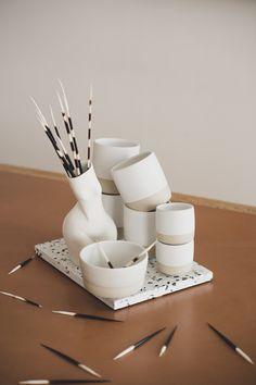 #ceramics #ceramist #ceramic #clay #stoneware #homeaccessories #madeinvienna #madeinaustria #conceptstore #tableware #diesellerie #coffeecups #teacups #sellerievienna #vienna #wien #wienneubau #keramikwihann #barbarawihann #ceramicslovers #andreakollar #terrazzo #porcelain #okdesign Ok Design, Shops, Lokal, Ceramic Clay, Terrazzo, Teacups, Vienna, Stoneware, Coffee Cups