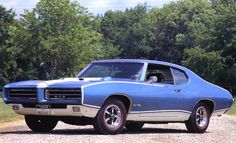 1969 Pontiac Royal GTO Hardtop Blue