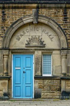 """Masonic Hall, Ilkley.GB."" House of the rising sun?"