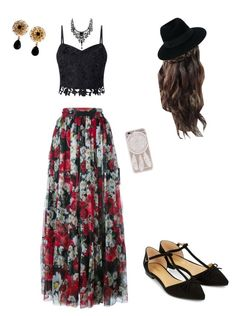 """Kloey"" by minionmayamoo on Polyvore featuring Lipsy, Dolce&Gabbana, Accessorize and Maison Michel"