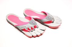 Decimal by Sazzi: A women's performance sport sandal with a ten individual, articulating toe platforms, providing each foot five tactile surfaces.  4 toe post upper construction naturally connects you to the footbed with no need to clinch your toes; 5 mm soft drop-in top sole; 2 mm DuraShank; Closed cell construction resists moisture and bacteria; high-traction Infinity Weave outsole; Midsole, footbed and outsole are 100% recyclable though PLUSfoam.com; Zero-drop neutral heel design