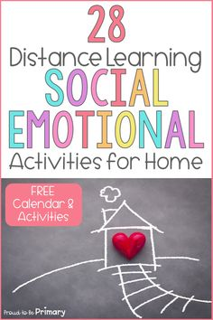 Social-emotional learning activities and lessons for kids can support distance learning at home. Use the ideas in this article to support your lessons for kindergarten, first grade, second grade, and third grade online and encourage families to make social-emotional development a priority at home. Grab your free copy of the SEL distance learning pack and editable calendar and children's SEL book list to support kids and their social-emotional needs! #socialemotionallearning #distancelearning Respect Activities, Teaching Respect, Social Emotional Activities, Kindness Activities, Social Emotional Development, Learning Tools, Learning Resources, Character Education Lessons, Friendship Activities
