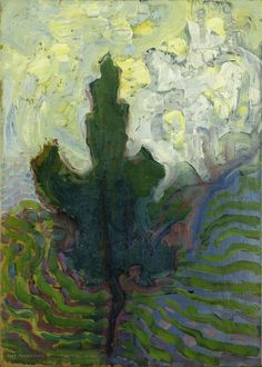 Piet Mondriaan - Single Tree Silhouette