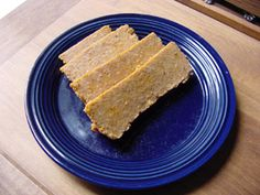 Homemade Nuteena. I want to try this so I can make the Nuteena Salad on crackers I sampled at Camp Meeting!