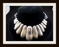 LUCIA Stunning Silver-tone Statement Necklace w/ Rhinestone Details #womens #fashion #jewelry