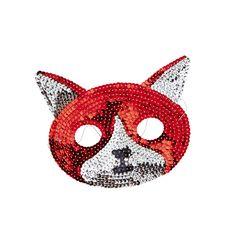 Rice Dk Sequin Fox Mask
