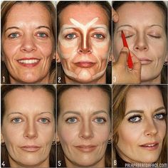 contouring makeup for mature skin - Google Search