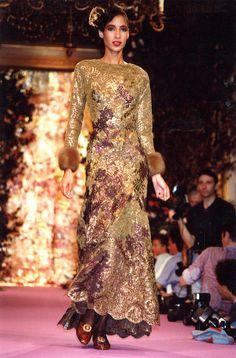 Christian Lacroix Haute Couture F/W 1989