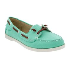 Old Navy Womens Canvas Boat Shoes ($25) ❤ liked on Polyvore