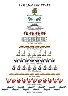 A Chicago Christmas Boxed Holiday Cards Allport Editions