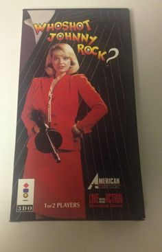 Who Shot Johnny Rock?  (3DO, 1994)  Complete In Box RARE 3DO GAME #VideoGame