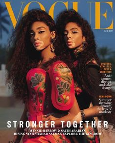 Vogue Magazine Covers, Vogue Covers, Model Winnie Harlow, Images Murales, Vogue Vintage, Commercial Modeling, Commercial Art, Mode Chanel, Fashion Cover
