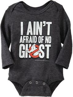 Ghostbusters™ Bodysuits for Baby | Old Navy. I LOVE THIS.