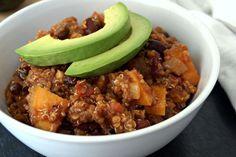 Recipe: Sweet Potato and Quinoa Chili