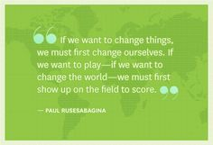 A quote to inspire you to make change