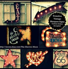 Custom Light Up Marquee Signs from The Electric Moon