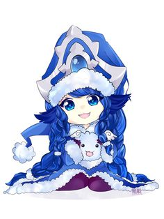 League of Legends - Winter Wonder Lulu by JessicaFreaxx on DeviantArt