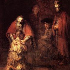 Rembrandt gestaltete das Bild im Jahr seines Todes