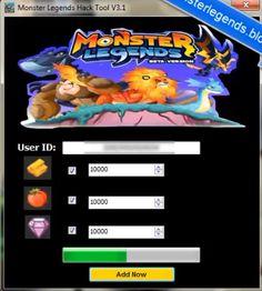 Monster Legends Hack Download from http://cheatmonsterlegends.blogspot.com/