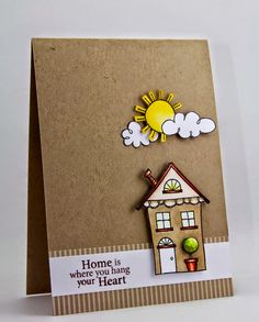 Jane's Doodles—Home Sweet Home